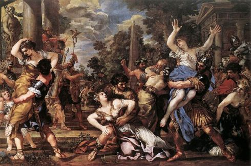 Rape of the Sabine Women, Pietro da Cortona, 1627 - 1629.